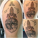 Tatuajes de cohetes