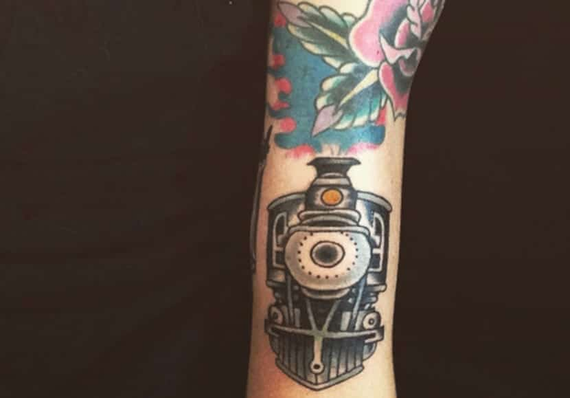 Tatuajes de trenes