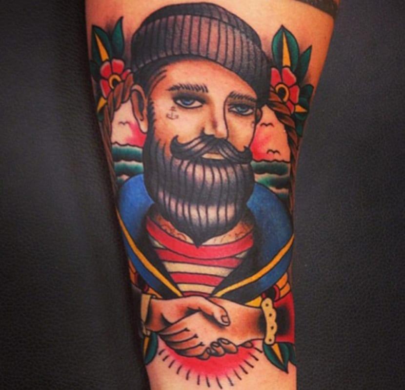 Los Tatuajes De Marineros Y Su Historia