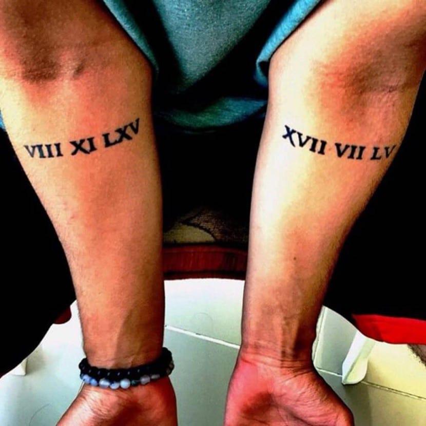 Tatuajes De Fechas Recordatorios De Días Importantes