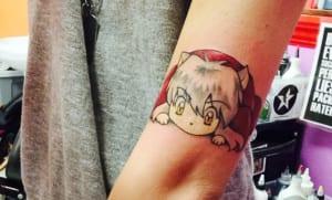 Tatuajes de anime