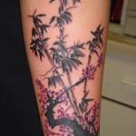 Tatuajes de bambú