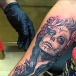Tatuajes de Catrinas