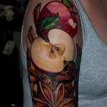 Tatuajes de manzanas