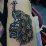Tatuajes de pavos reales
