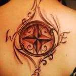 Tatuajes de la Rosa de los Vientos