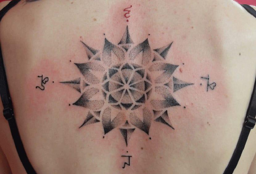 Tatuajes De La Rosa De Los Vientos Y Su Significado