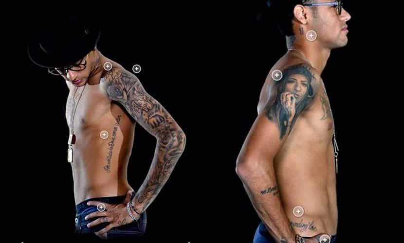 Todos los tatuajes de Neymar Jr