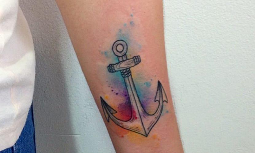 Tatuajes De Anclas En El Brazo