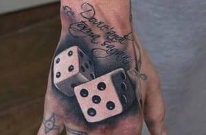 Tatuajes de dados