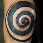 Tatuajes de espirales