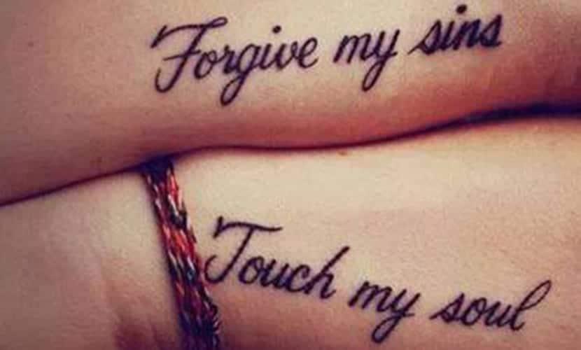Tatuajes De Frases Para Parejas Deja Plasmado Tu Amor En La Piel