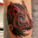 Tatuajes de jabalíes