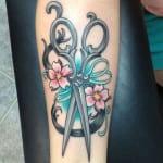 Tatuajes para peluqueros