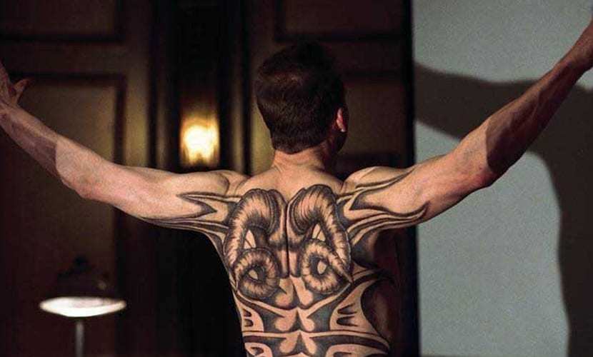 Dragón Rojo tattoo