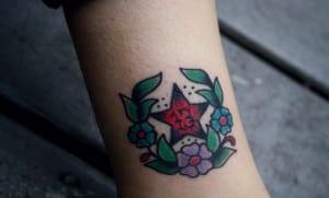Tatuaje del número 13