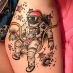 Tatuajes de Astronautas