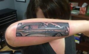 Tatuajes de coches