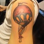 Tatuajes de globos