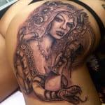 Tatuajes en los glúteos