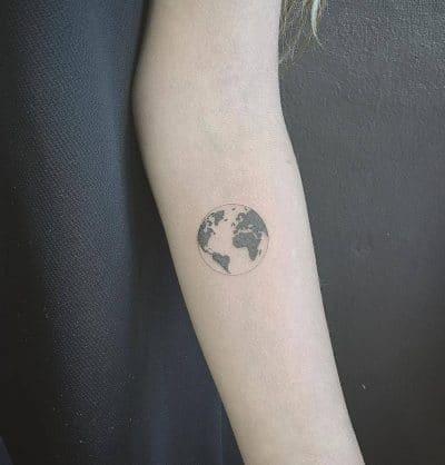 El globo en el que vivimos, la tierra