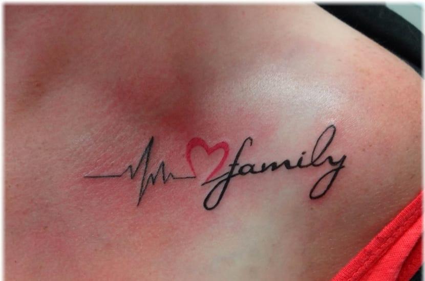 Tatuaje latidos de corazón