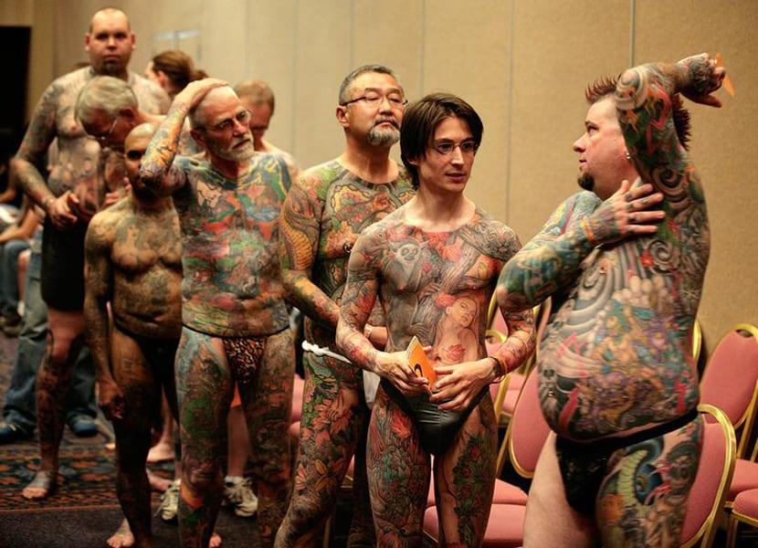 Tatuajes de cuerpo entero