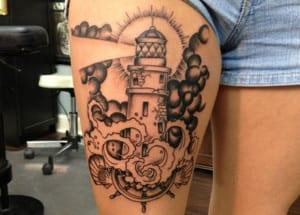 Tatuajes de faros