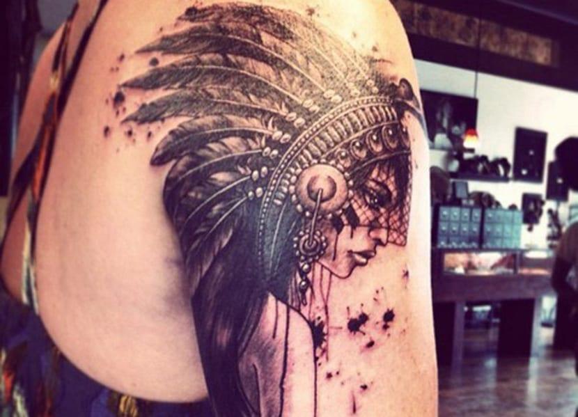 Tatuajes De Indios Americanos