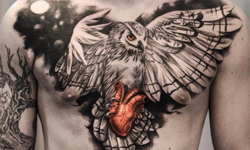 Tatuajes En El Pecho Recopilacion Y Claves - Tatuajes-en-pecho