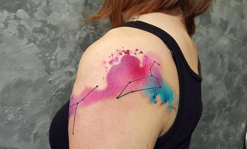 Tatuajes de constelaciones