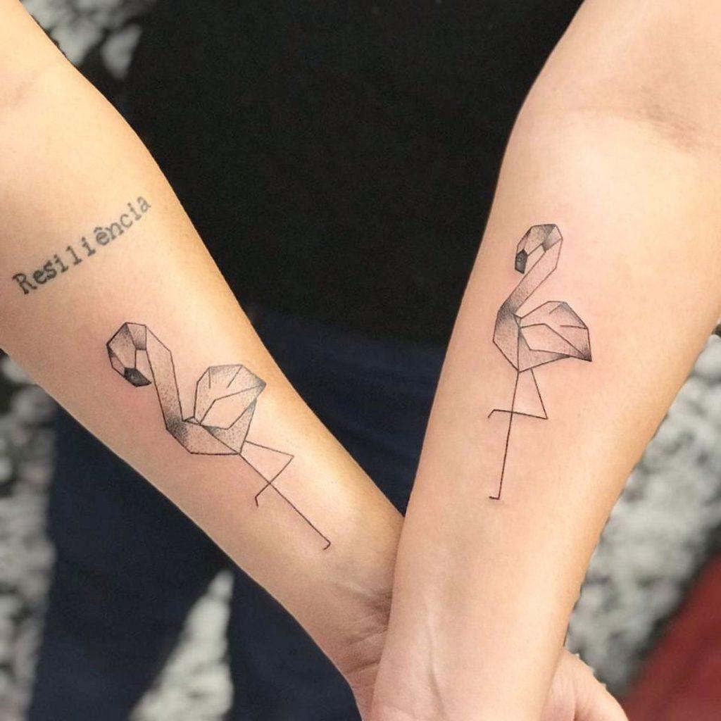 Tatuajes Madre e Hija Originales Flamencos