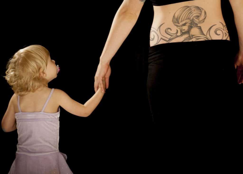 Tatuajes Madre e Hija Originales Madre