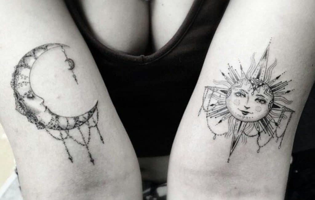 Tatuajes Madre e Hija Originales Sol
