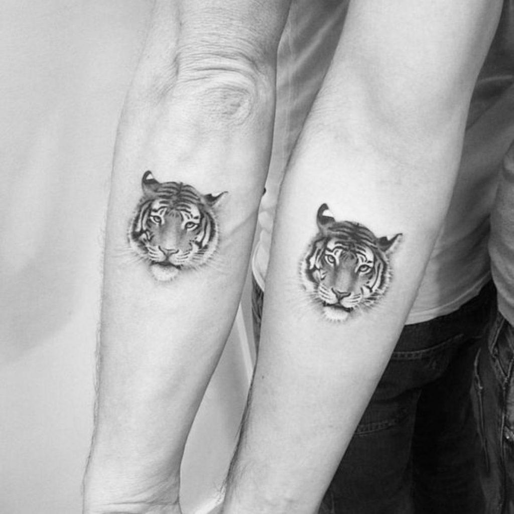 Tatuajes Madre e Hija Originales Tigres