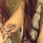 Tatuajes de la rama de olivo