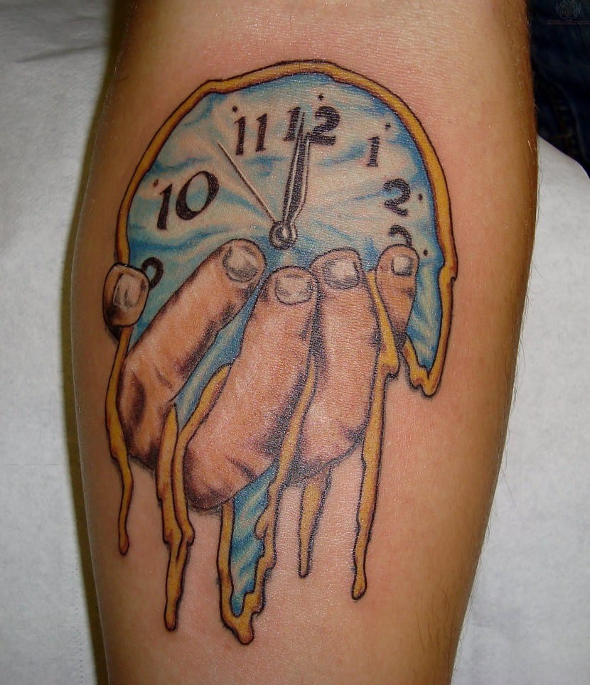 tatuajes relojes nombres abstracto