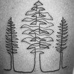 Tatuajes de una sola línea