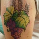 Tatuajes de uvas