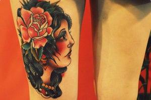 Tatuajes de mujeres gitanas