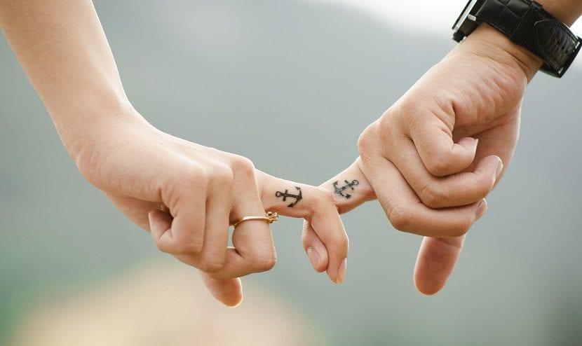 Tatuajes De Anclas Para Parejas