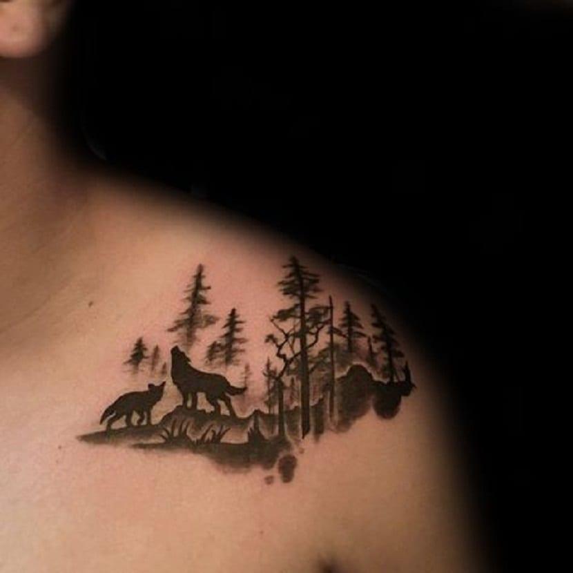 83 Awesome Y G Tattoos Cool Tattoo Designs: Tatuaje De Lobo: Significado Y Simbolismo