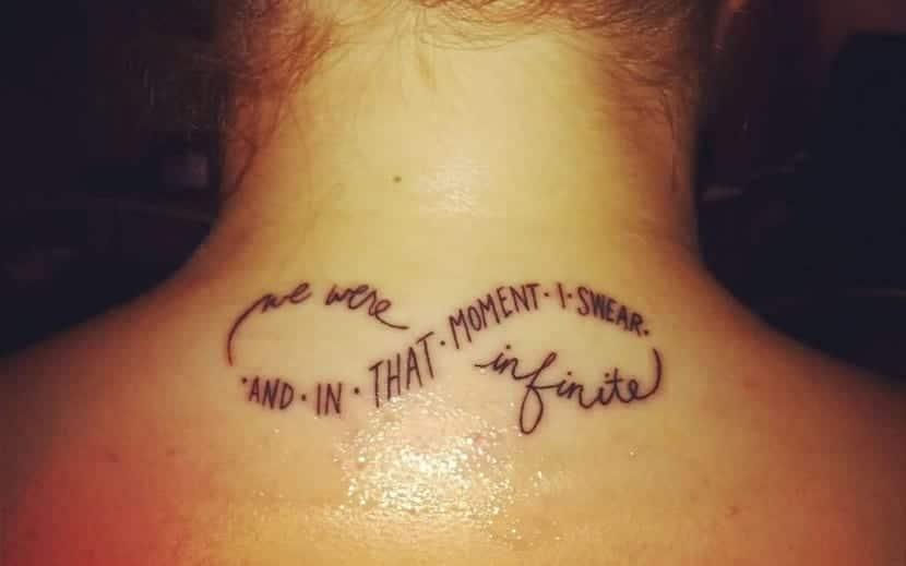 Tatuajes De Infinito Con Frases En Espanol - Tatuajes-de-frases-de-amistad