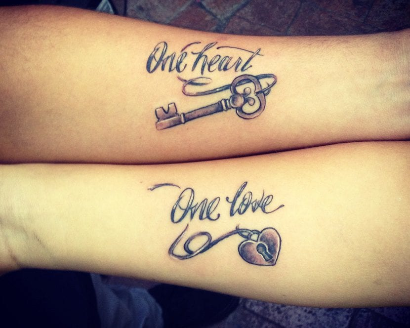 Tatuajes de parejas de amor con significado