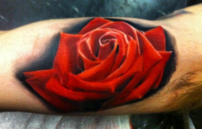 Tatuajes De Rosas En El Brazo