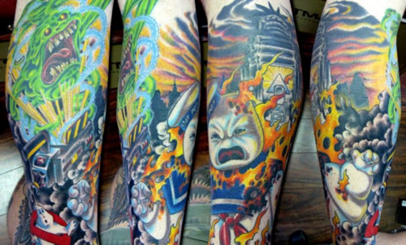 Tatuajes de Cazafantasmas
