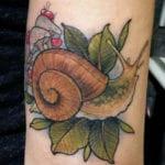 Tatuajes de caracoles