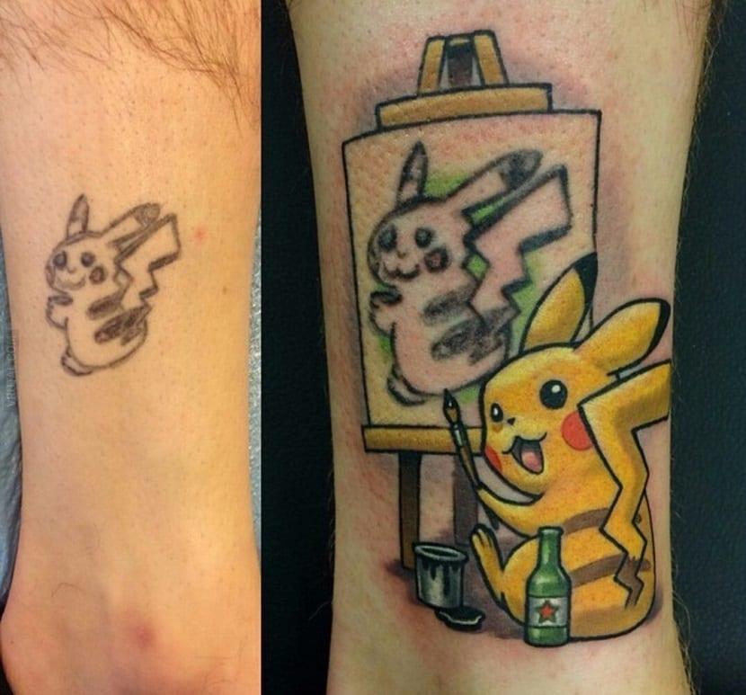 Lleva Contigo A Sus Personajes Con Los Tatuajes De Pokemon