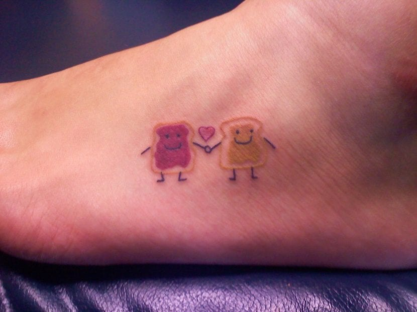 tatuaje divertido tostadas