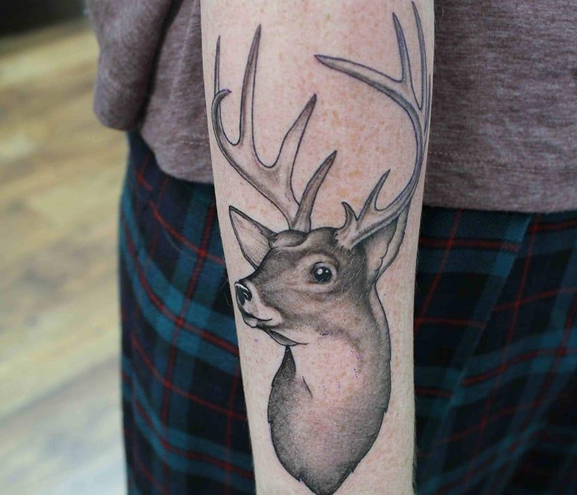 Tatuajes De Ciervos Y Su Significado